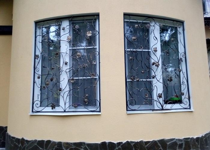 Решётка на окно МС8/25
