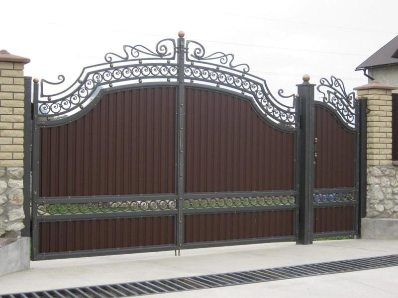 Распашные ворота РВ-601