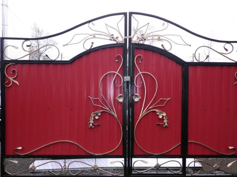 Распашные ворота РВ-602