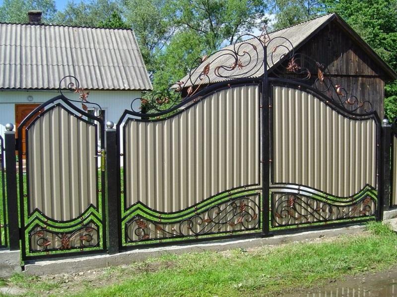 Распашные ворота РВ-603