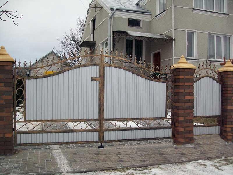 Распашные ворота РВ-604