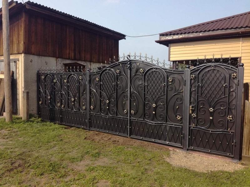 Распашные ворота РВ-605