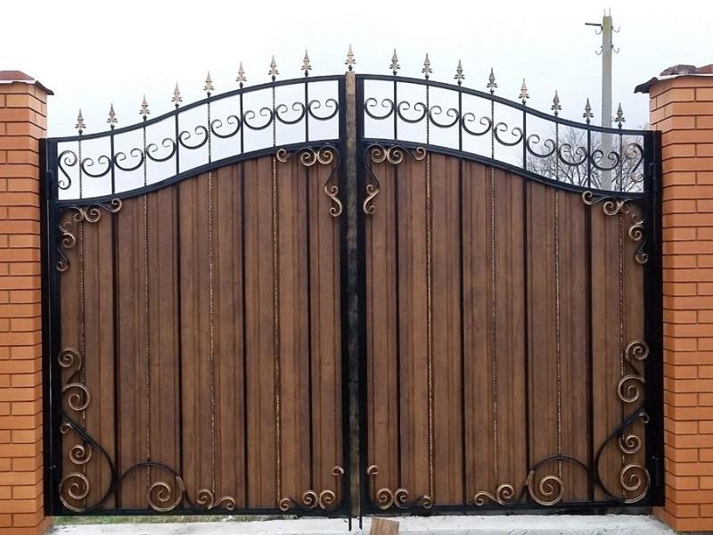 Распашные ворота РВ-609