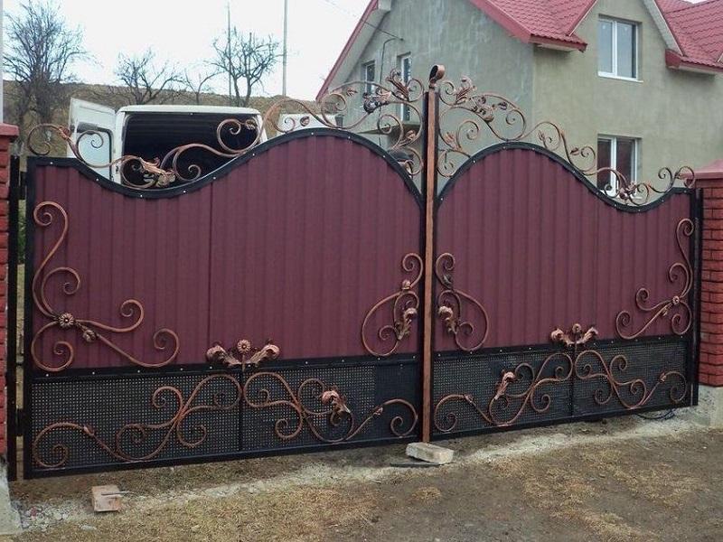 Распашные ворота РВ-614