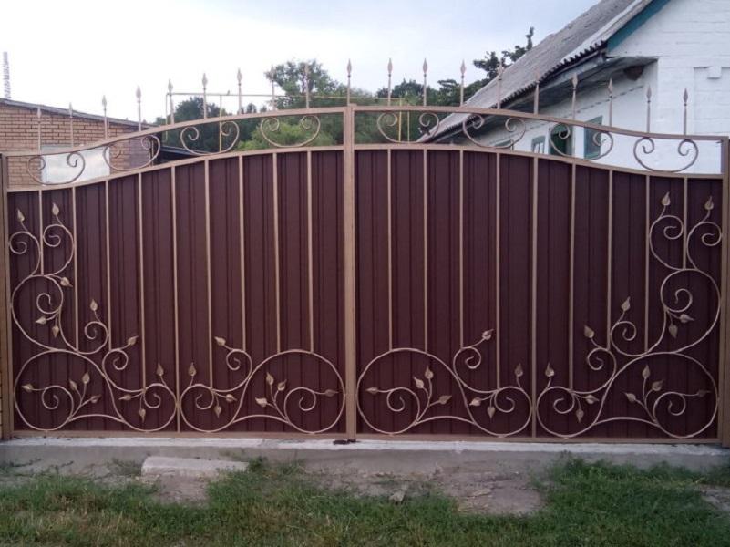 Распашные ворота РВ-615