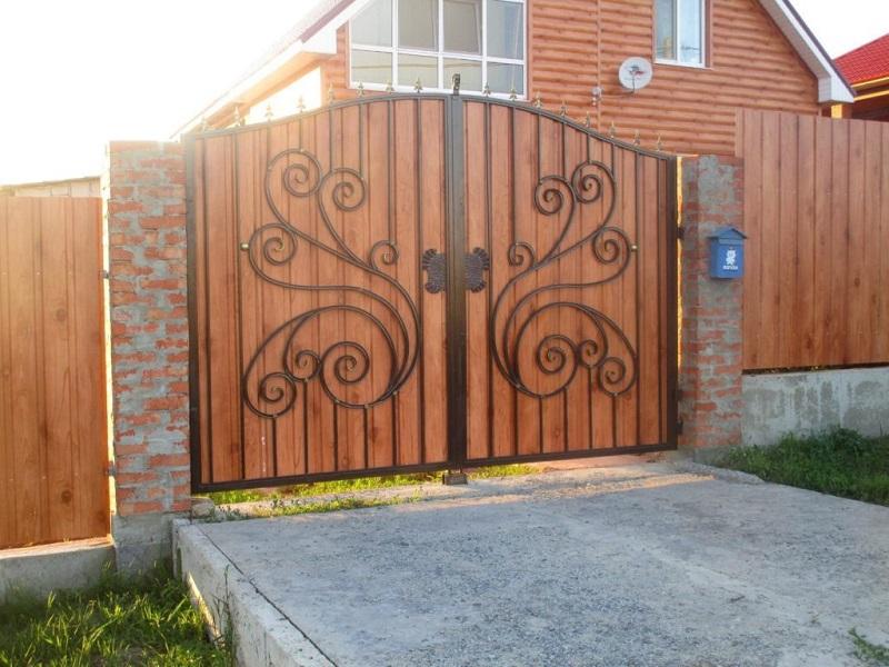 Распашные ворота РВ-616