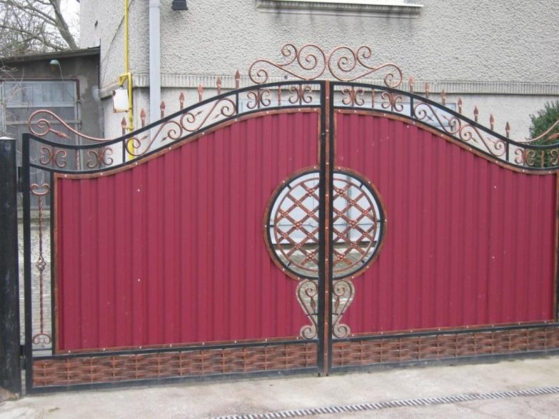 Распашные ворота РВ-617