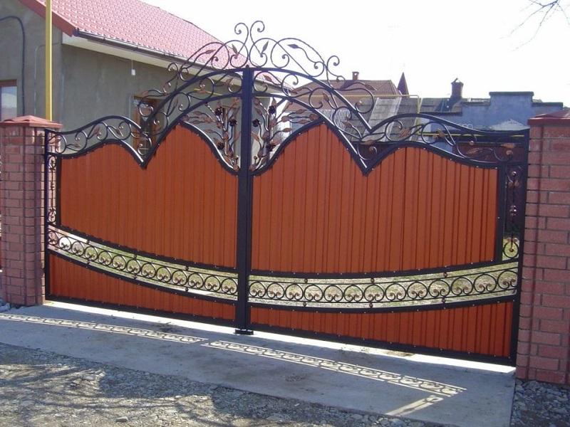 Распашные ворота РВ-619