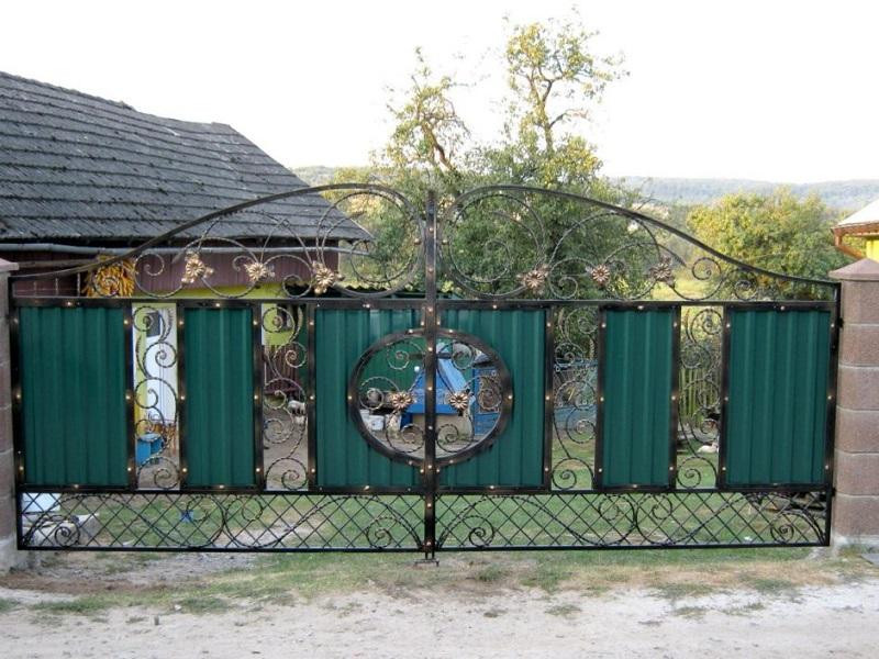 Распашные ворота РВ-620