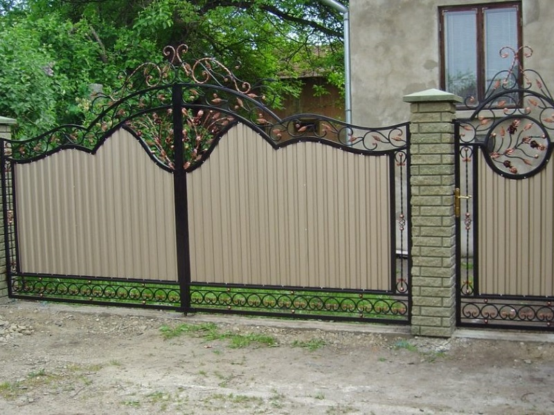 Распашные ворота РВ-622