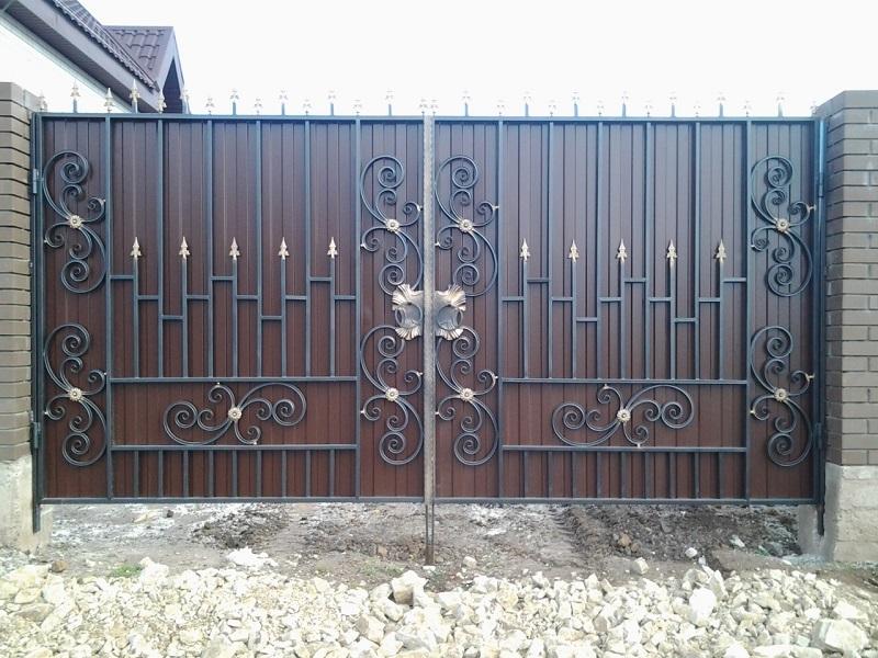 Распашные ворота РВ-623