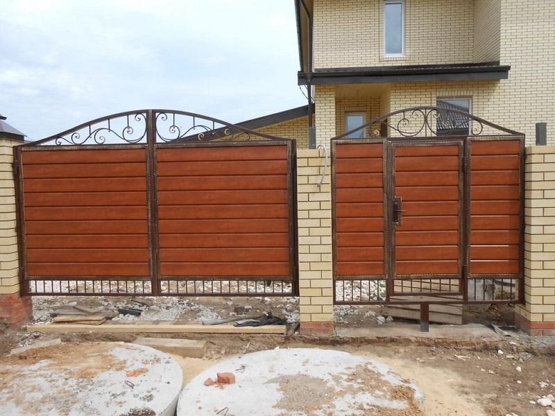 Распашные ворота РВ-624
