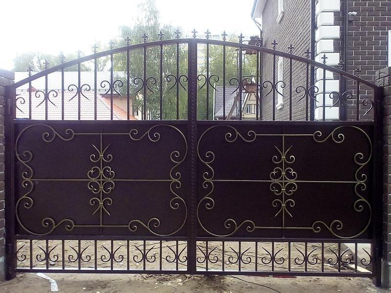 Распашные ворота РВ-625