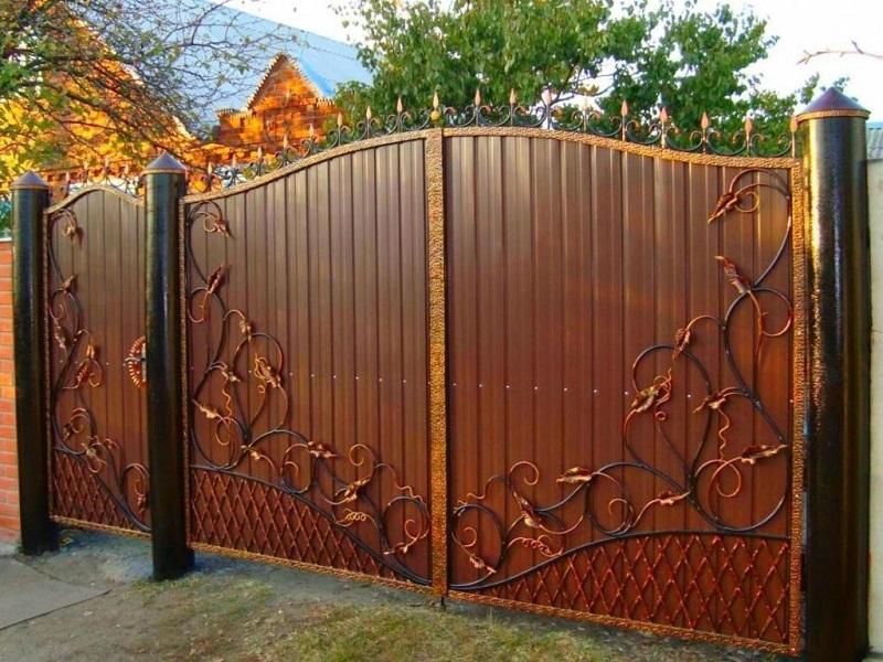 Распашные ворота РВ-626
