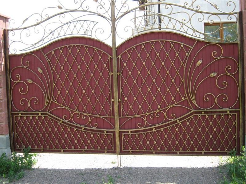 Распашные ворота РВ-627