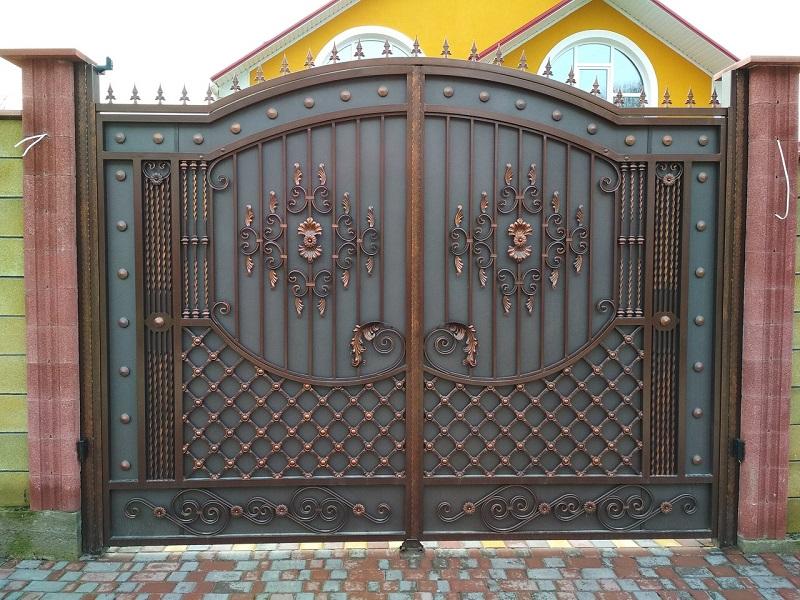 Распашные ворота РВ-628