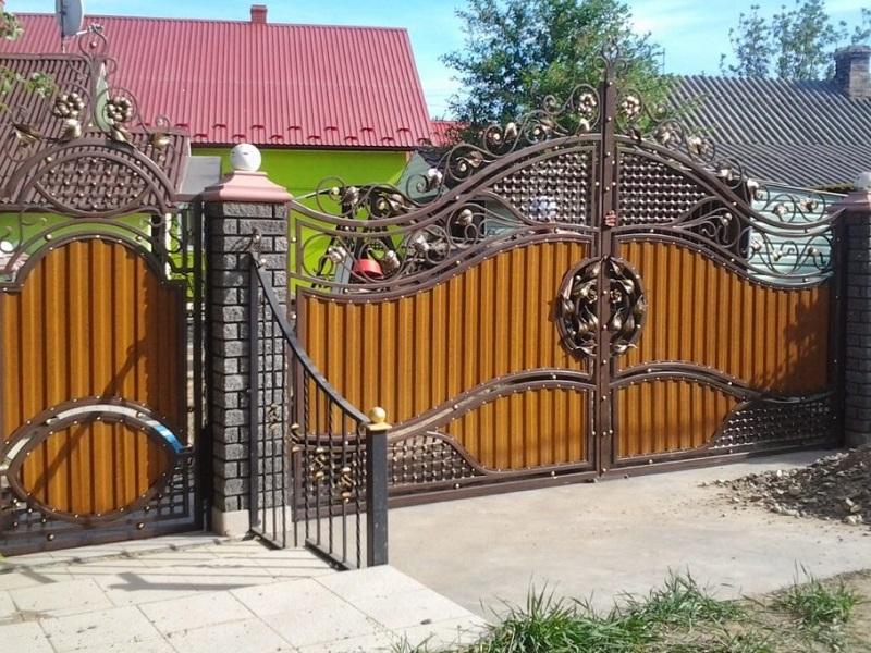 Распашные ворота РВ-629