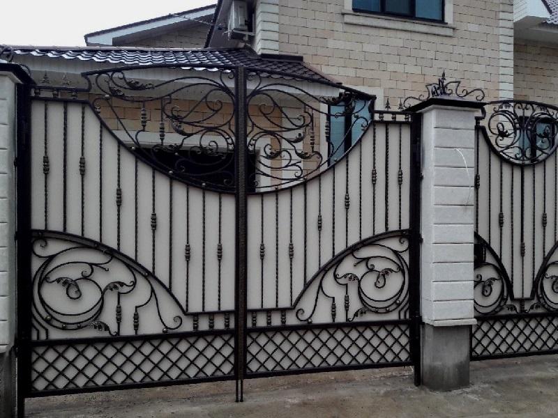 Распашные ворота РВ-630