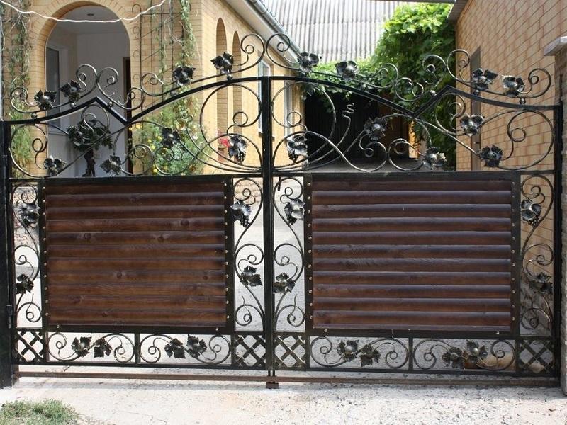 Распашные ворота РВ-631