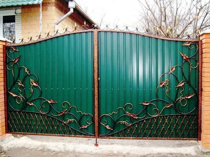 Распашные ворота РВ-635