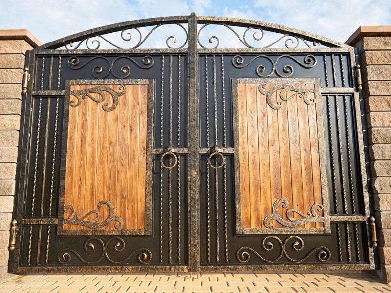 Распашные ворота РВ-636