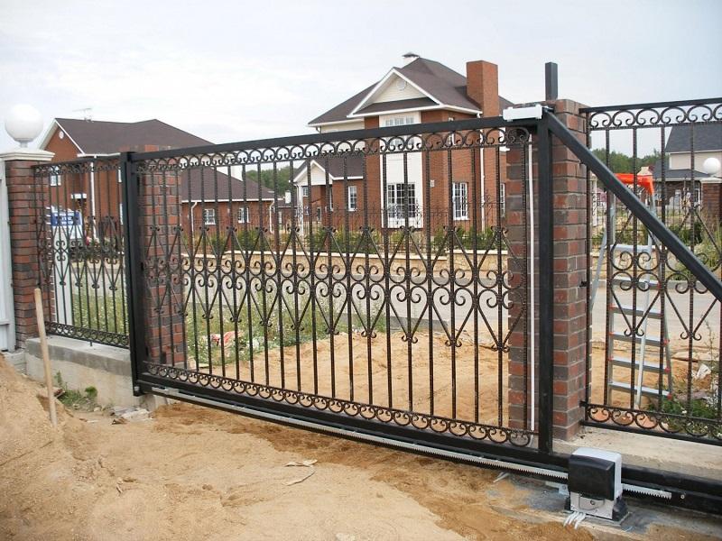 Откатные ворота ОВ-901