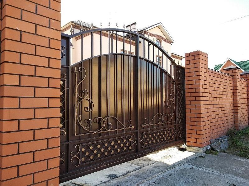 Откатные ворота ОВ-902