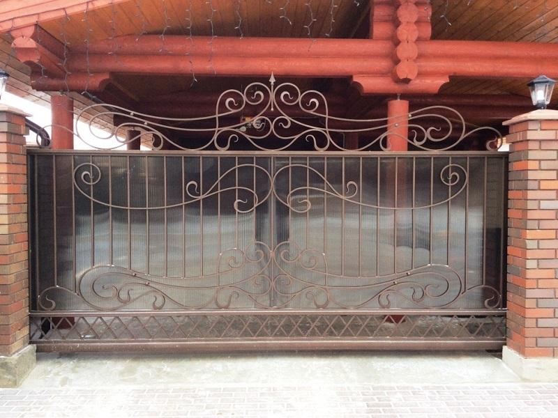 Откатные ворота ОВ-904