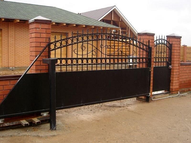 Откатные ворота ОВ-905