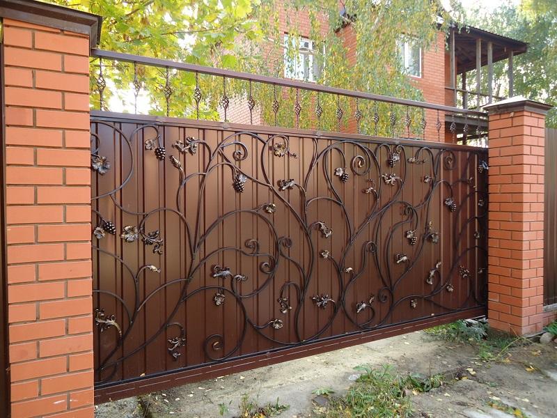 Откатные ворота ОВ-906