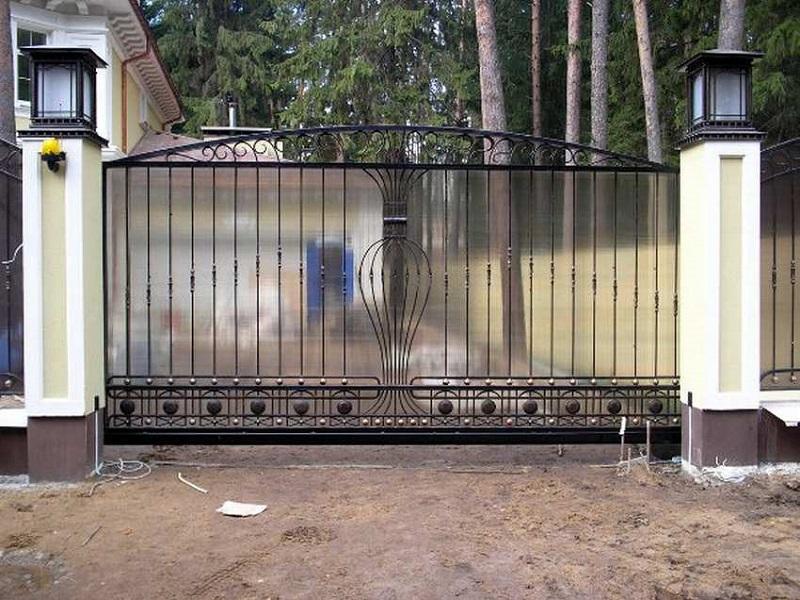 Откатные ворота ОВ-907