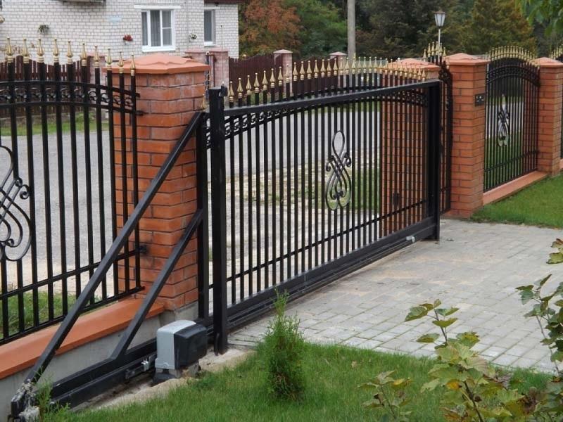 Откатные ворота ОВ-908