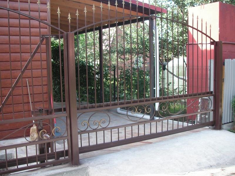 Откатные ворота ОВ-912