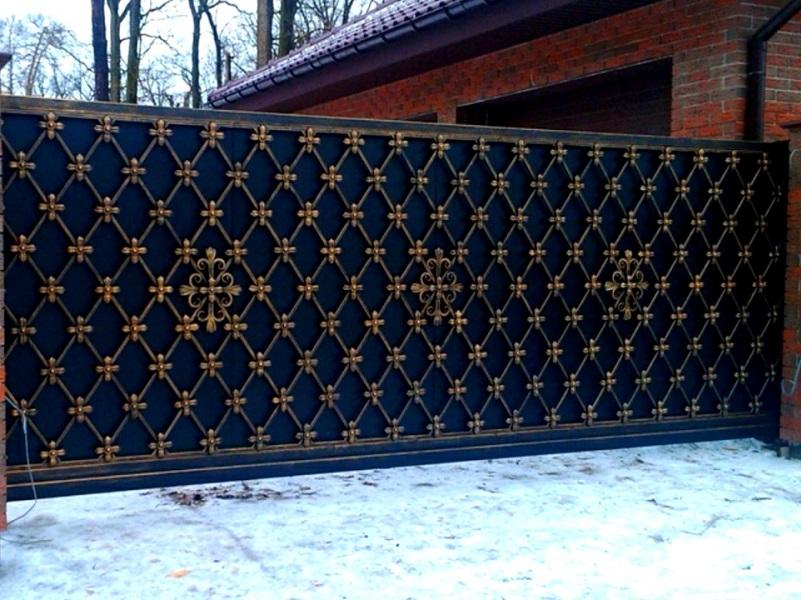 Откатные ворота ОВ-913