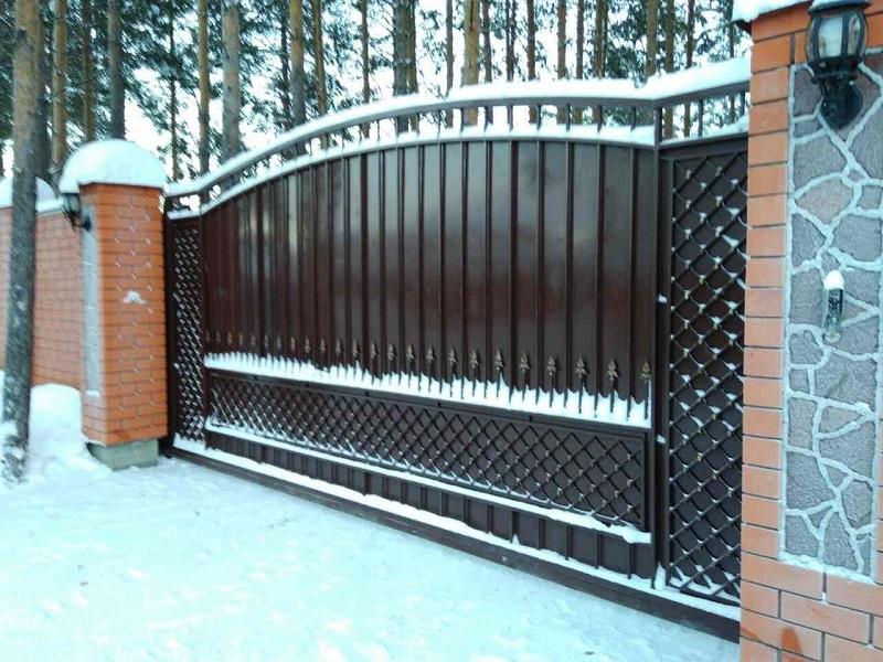 Откатные ворота ОВ-914