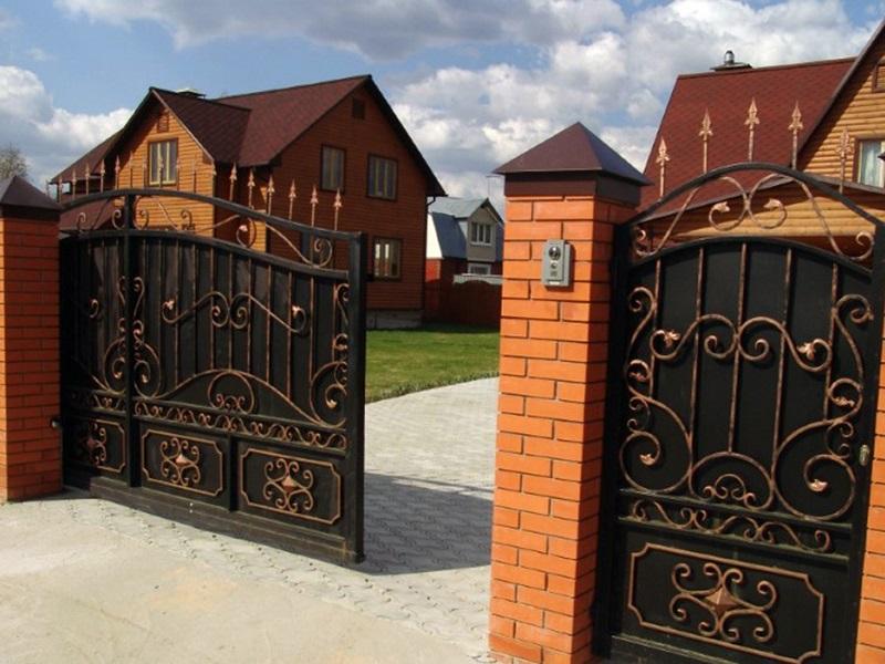 Откатные ворота ОВ-915