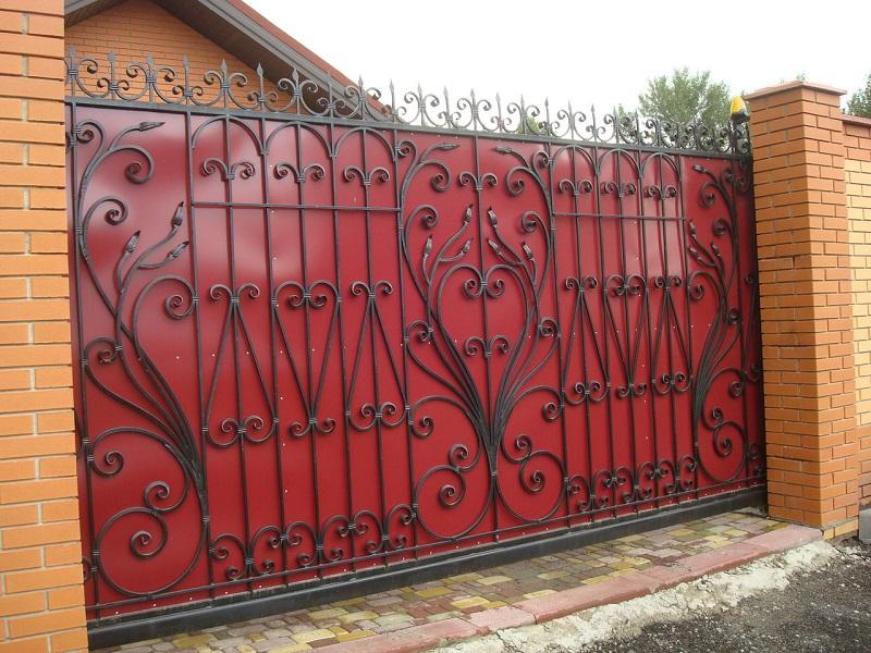Откатные ворота ОВ-916