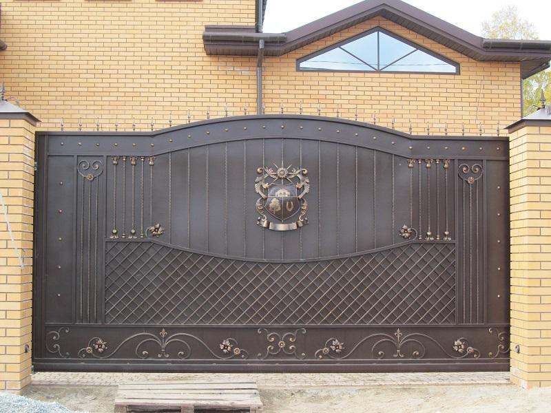 Откатные ворота ОВ-917