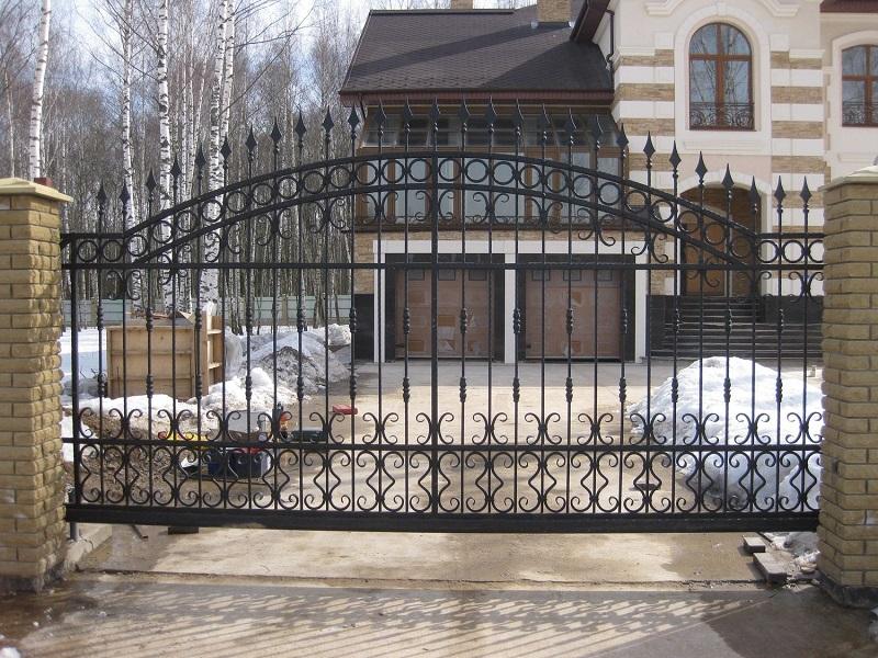 Откатные ворота ОВ-918