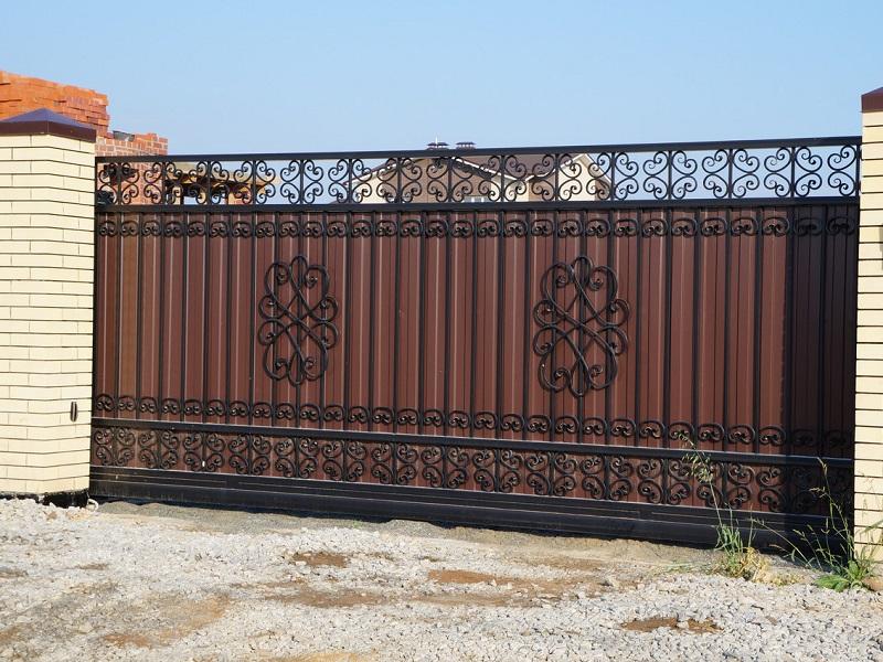 Откатные ворота ОВ-920