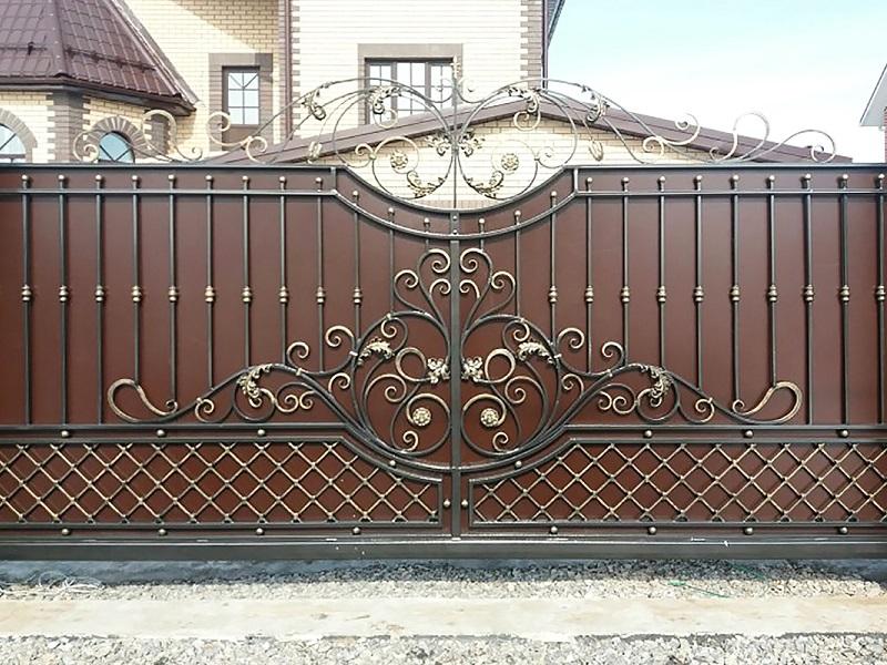 Откатные ворота ОВ-921