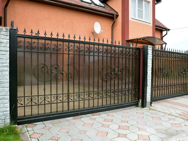 Откатные ворота ОВ-922