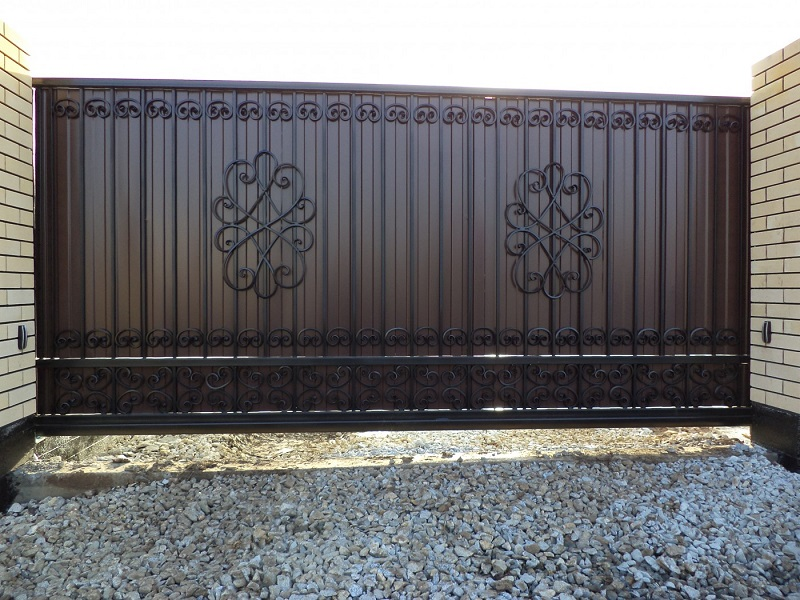 Откатные ворота ОВ-923