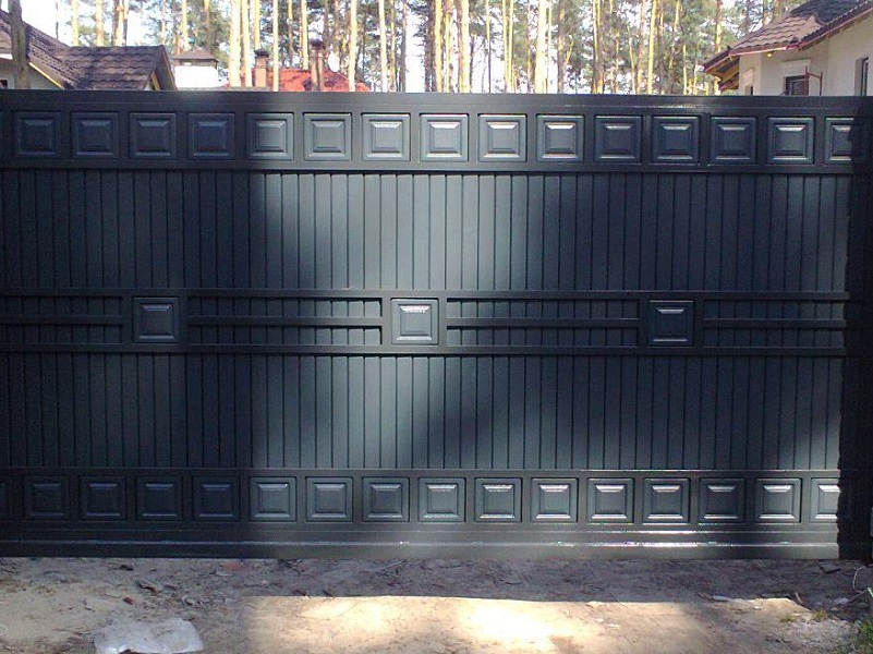 Откатные ворота ОВ-924