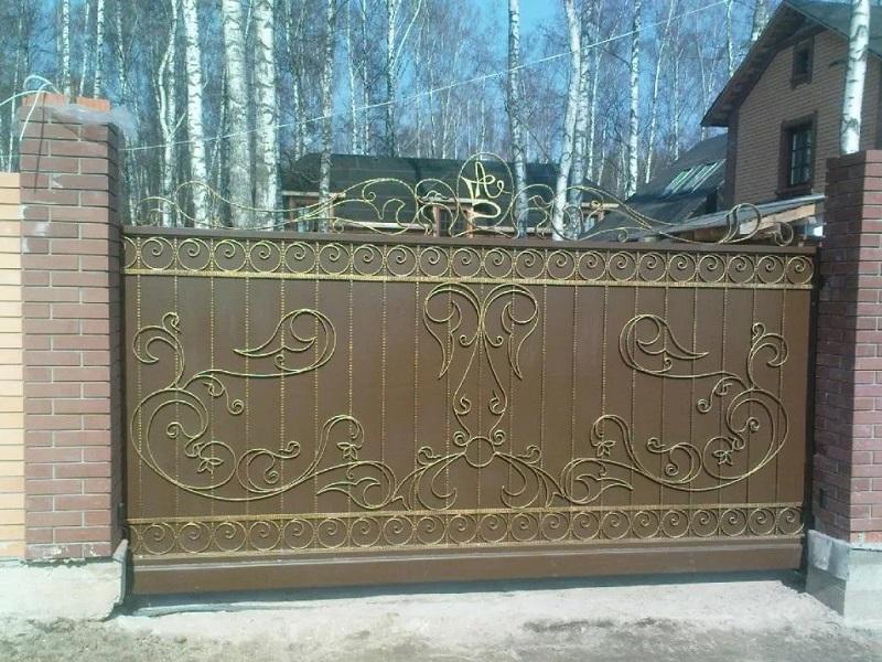 Откатные ворота ОВ-925