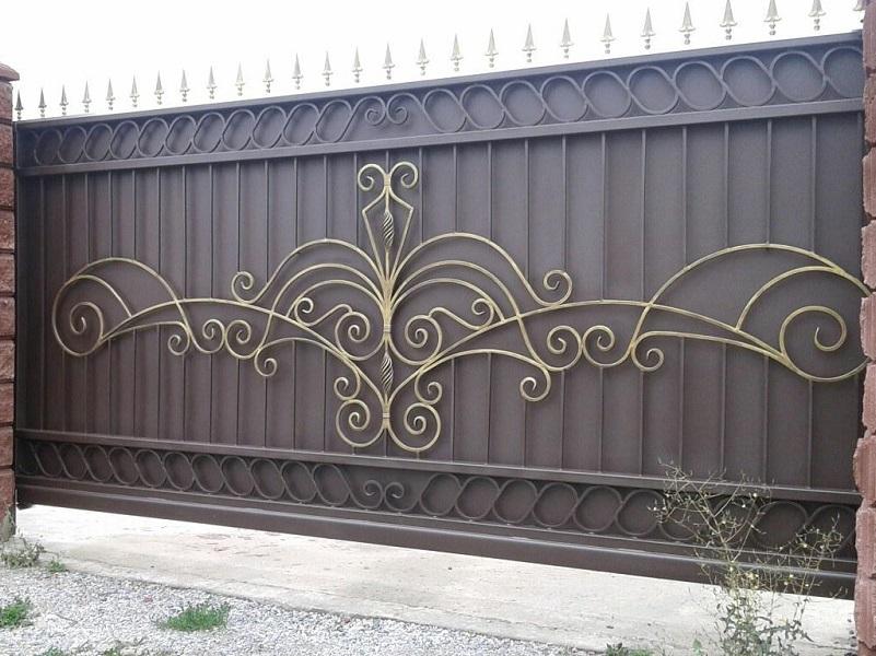 Откатные ворота ОВ-926