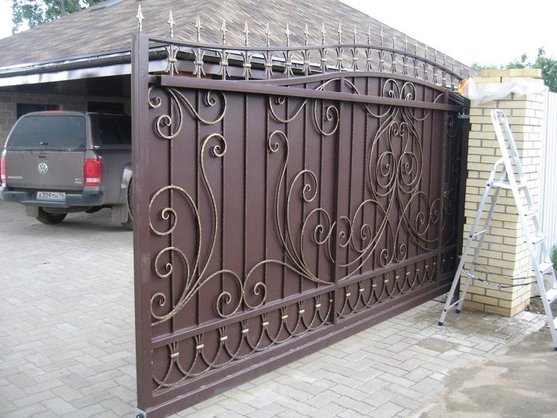 Откатные ворота ОВ-929