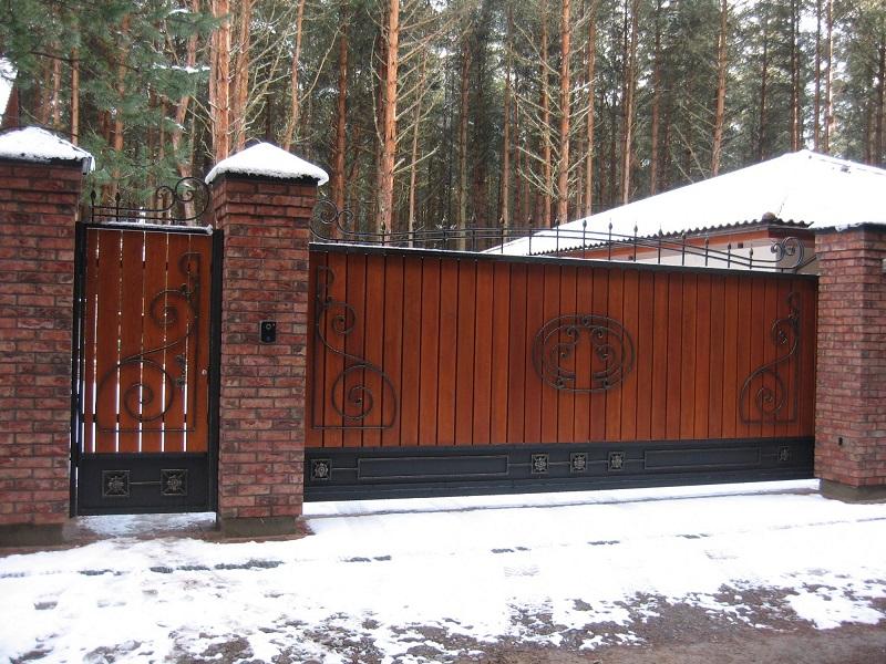 Откатные ворота ОВ-930