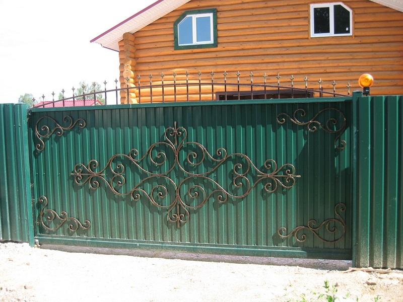 Откатные ворота ОВ-931