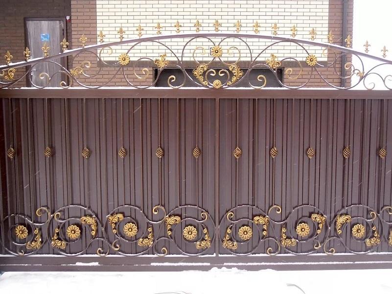 Откатные ворота ОВ-933